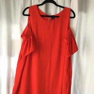 Dresses & Skirts - Plus Size Cold Shoulder Dress
